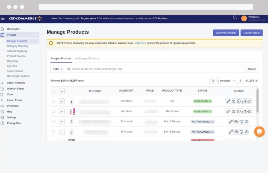 Ced Commerce Shopify app