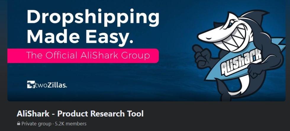 AliShark Facebook group