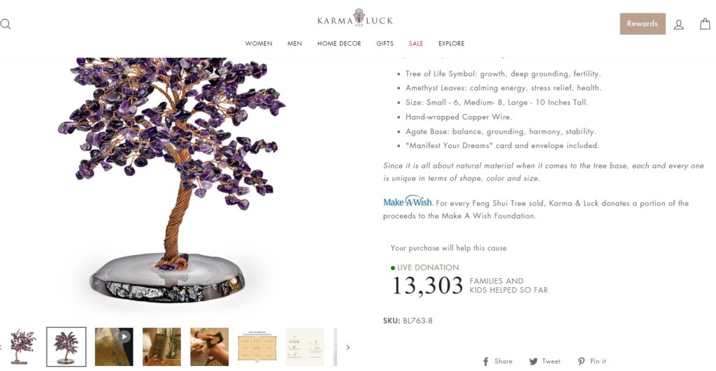 Karma And Luck product page