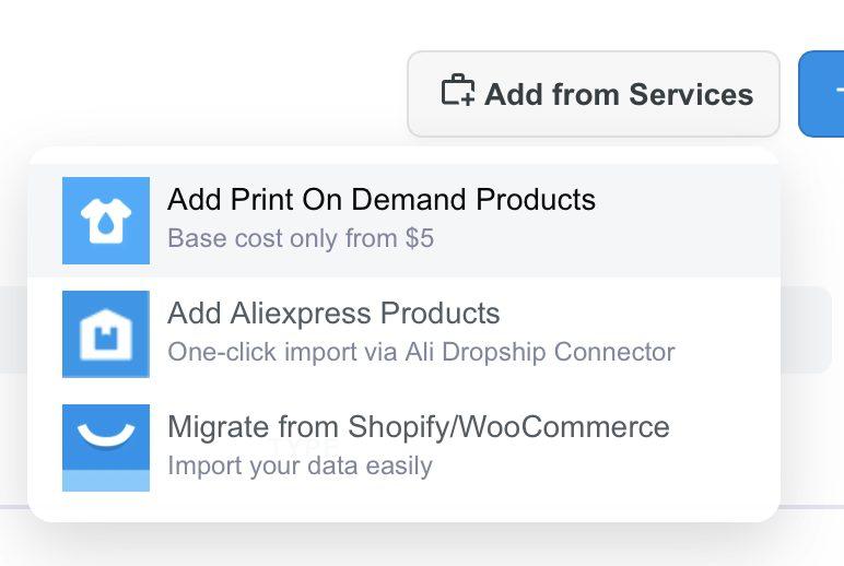 ShopBase product import