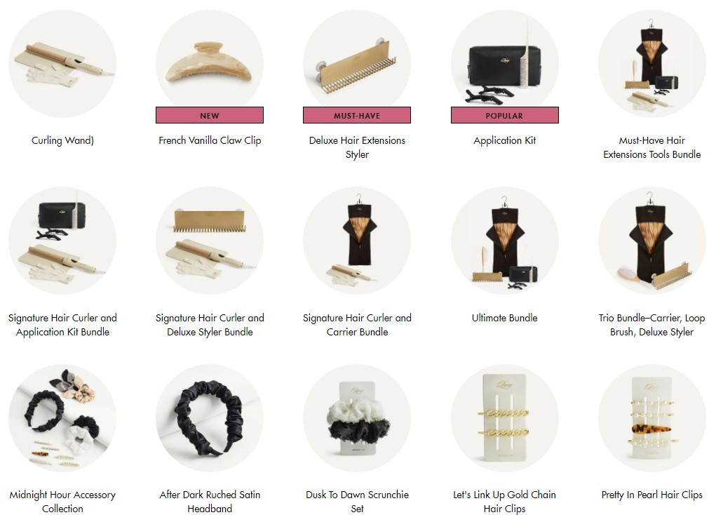Other hair items & accessories to dropship