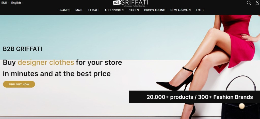 Griffati brand name dropshipping supplier