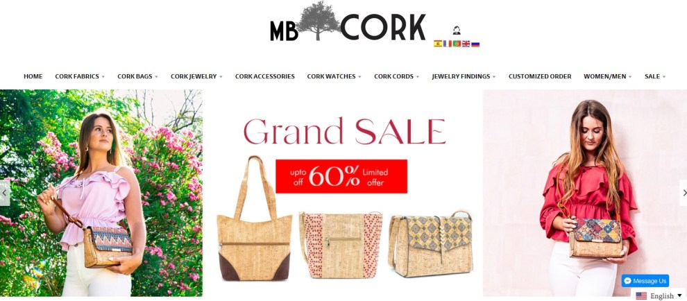 MBCork Alibaba factory direct wholesaler