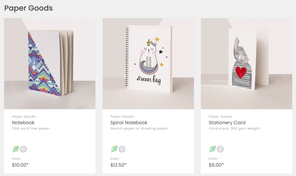 Notebook dropshipping products on ArtOfWhere