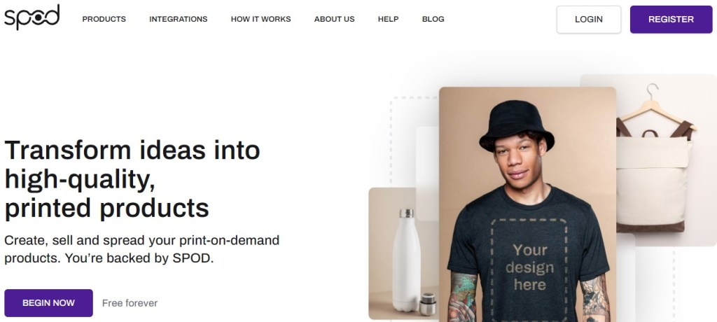SPOD US fashion clothing manufacturer