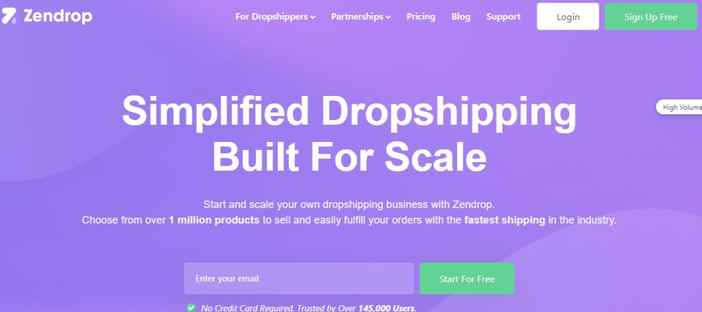 Zendrop non-Chinese dropshipping supplier