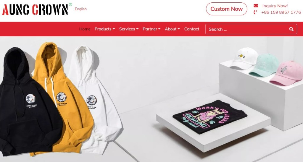 Accaps fashion clothing manufacturer in China