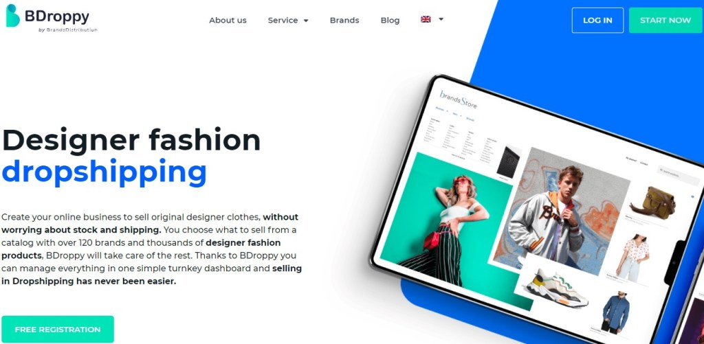 BDroppy brand name dropshipping supplier