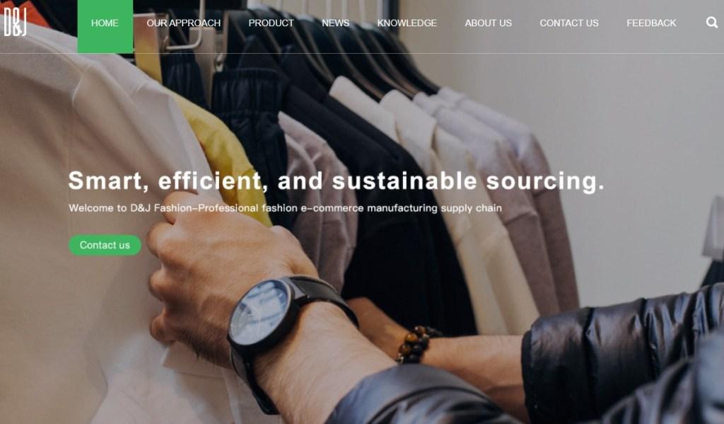 DNJFashion fashion clothing manufacturer in China