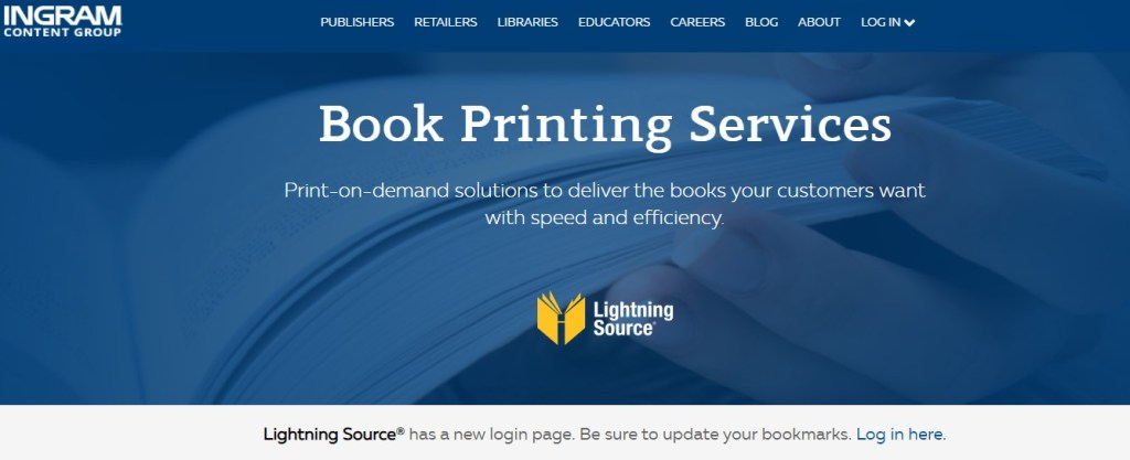 Lightning Source books dropshipping supplier