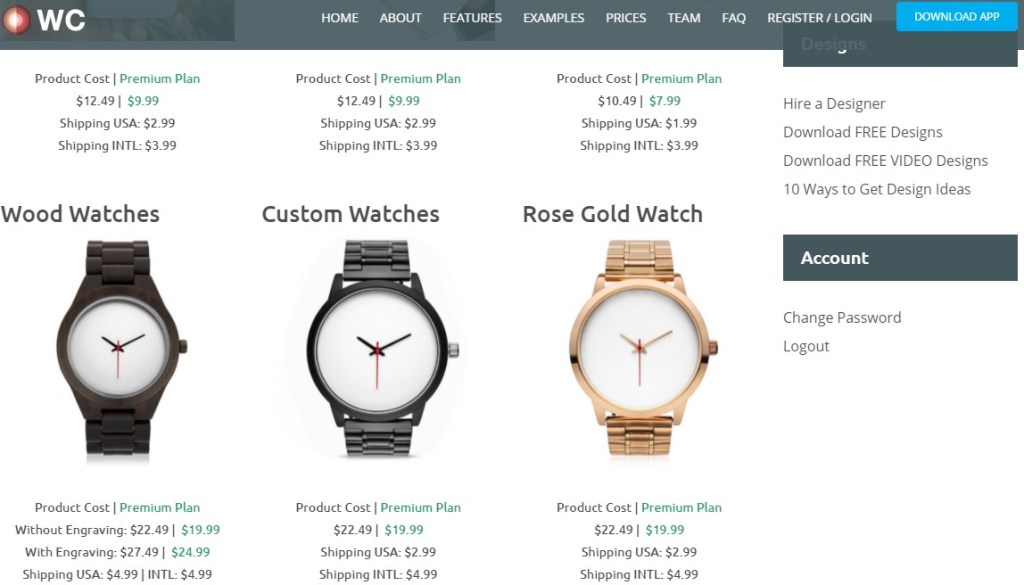WCFulfillment jewelry & watches print-on-demand dropshipping supplier