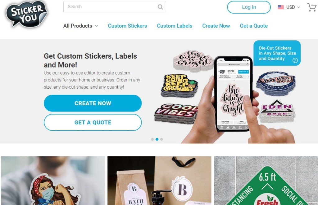 StickersYou non-Chinese dropshipping supplier