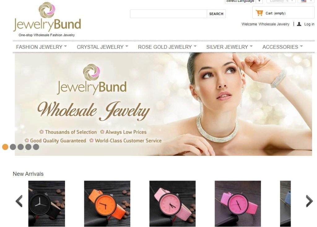 JewelryBund wholesale Korean jewelry supplier