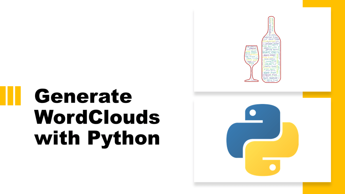 Wordcloud with Python
