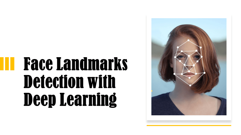 Face landmarks detection with deep learning