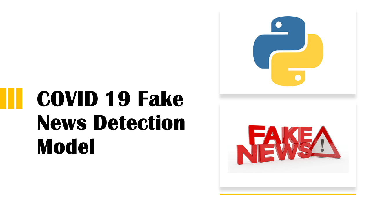 Fake News Detection Model | Data Science | Machine Learning | Python