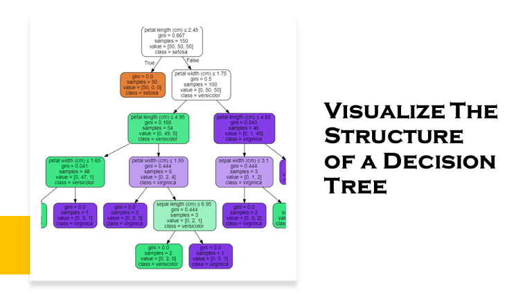 Visualize a Decision Tree in Machine Learning