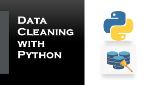 data cleaning with python