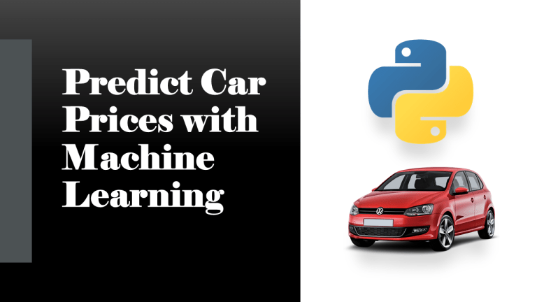 Predict Car Prices with Machine Learning