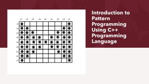 Pattern Programming Using C++ Programming Language