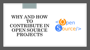 How to Contribute to Open Source Projects with Your Coding Skills