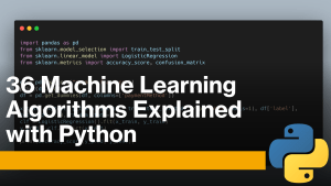 Machine Learning Algorithms with Python