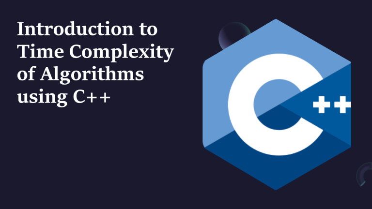 Time Complexity of Algorithms in C++