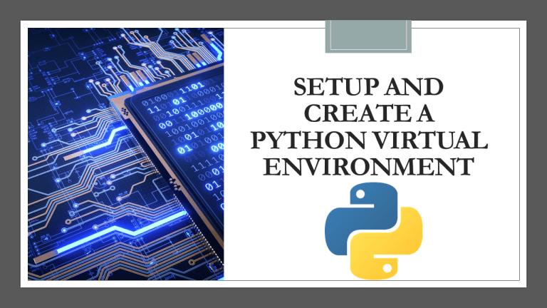 Create a Python Virtual Environment