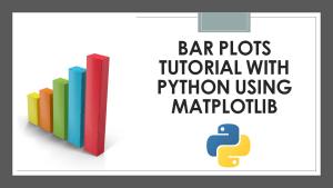 Bar Plots with Python
