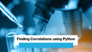 Correlation using Python