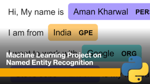 Named Entity Recognition with Python