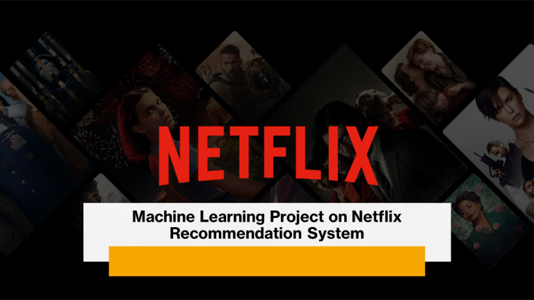 Netflix Recommendation System with Python