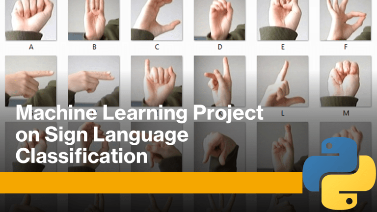 Sign Language Classification with Python