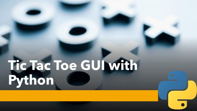 Tic Tac Toe GUI with Python