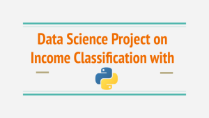 income classification with python