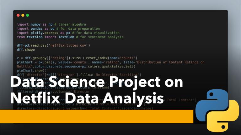 Netflix Data Analysis with Python