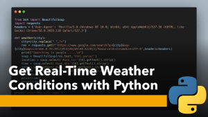 Real-Time Weather with Python