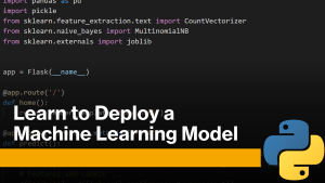 Deploy Machine Learning Model with Python
