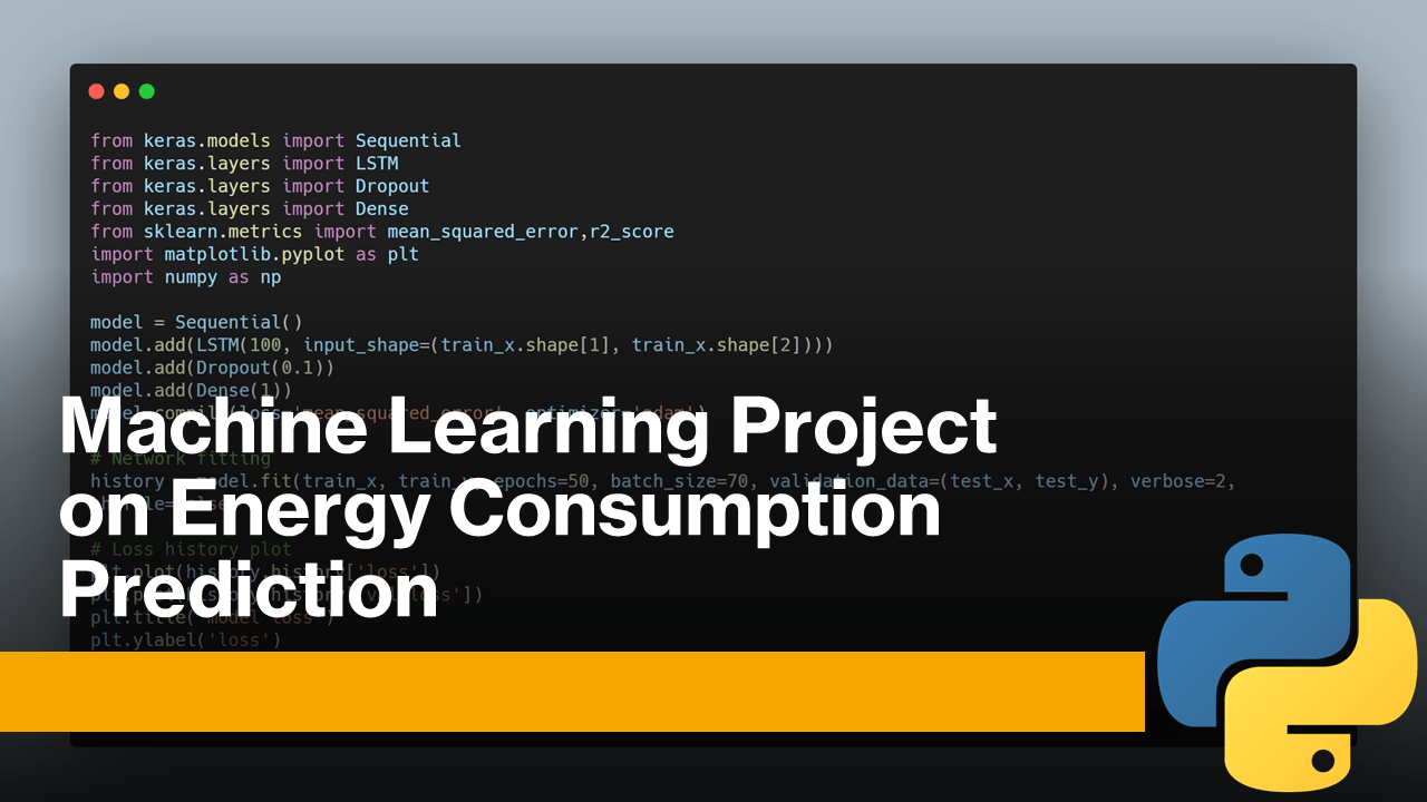 Energy Consumption Prediction with Machine Learning