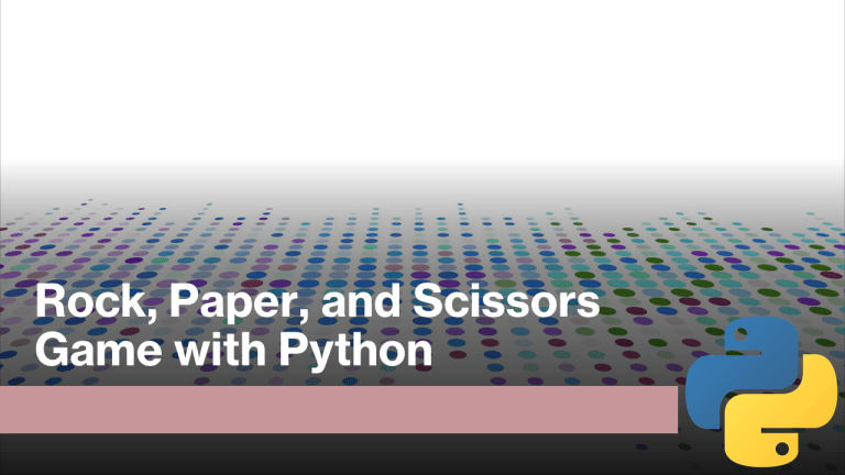 Rock Paper and Scissors Game with Python