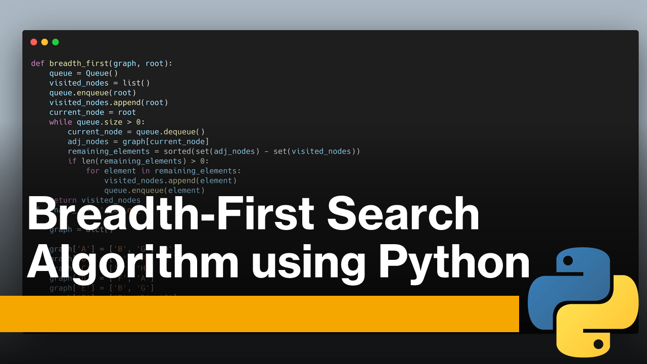 Breadth-First Search using Python