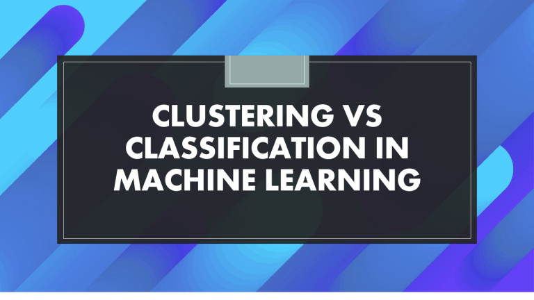 Clustering and Classification in Machine Learning