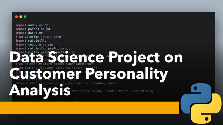Customer Personality Analysis with Python