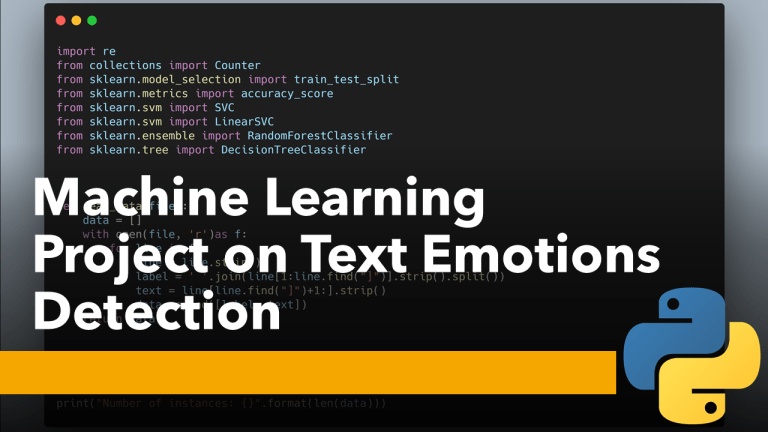 Text Emotions Detection with Machine Learning