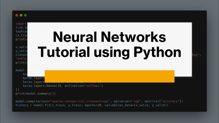 Neural Networks in Machine Learning