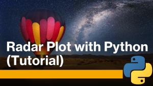 Radar Plot using Python
