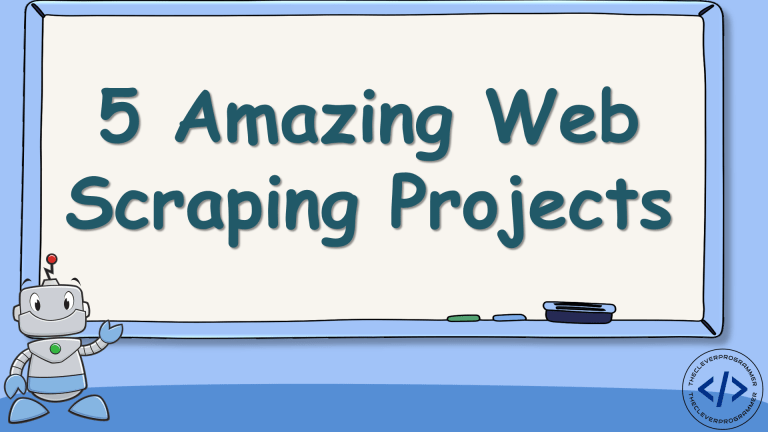Web Scraping Projects using Python