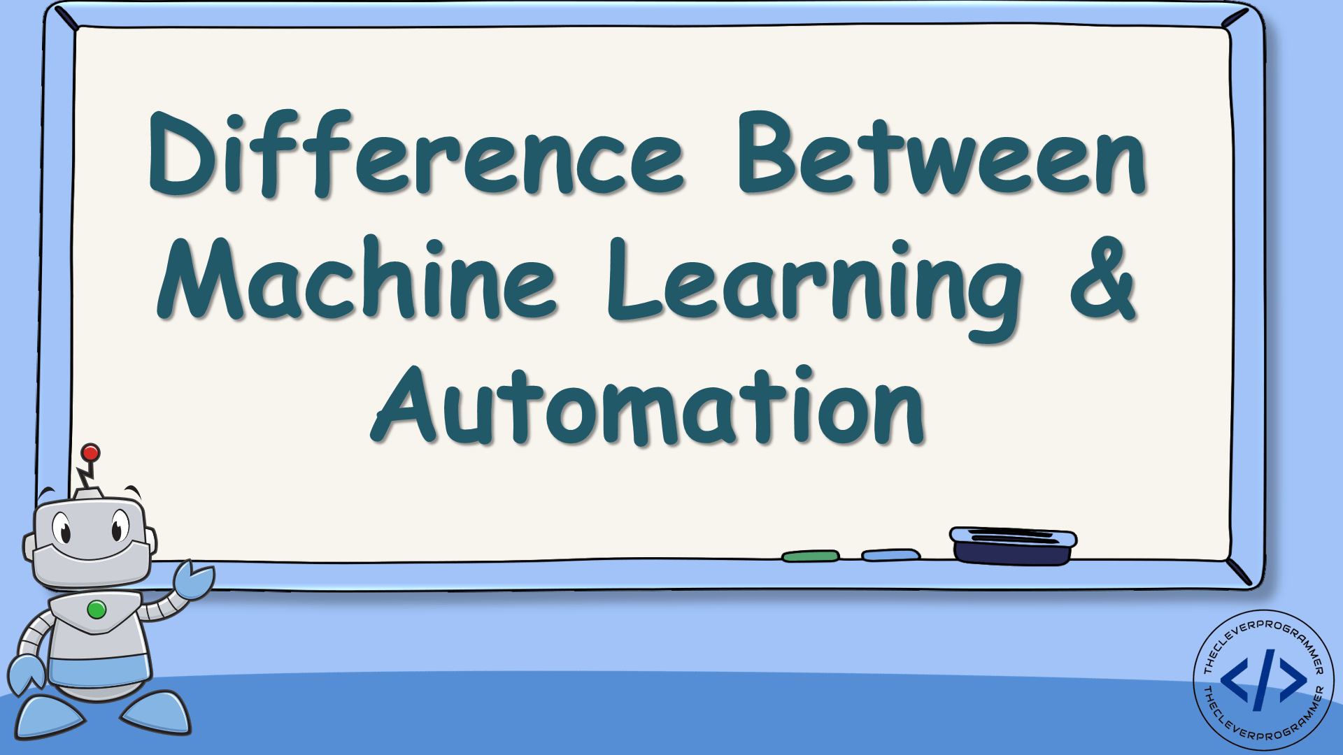 Difference Between Machine Learning and Automation