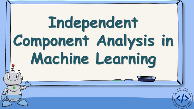 Independent Component Analysis in Machine Learning