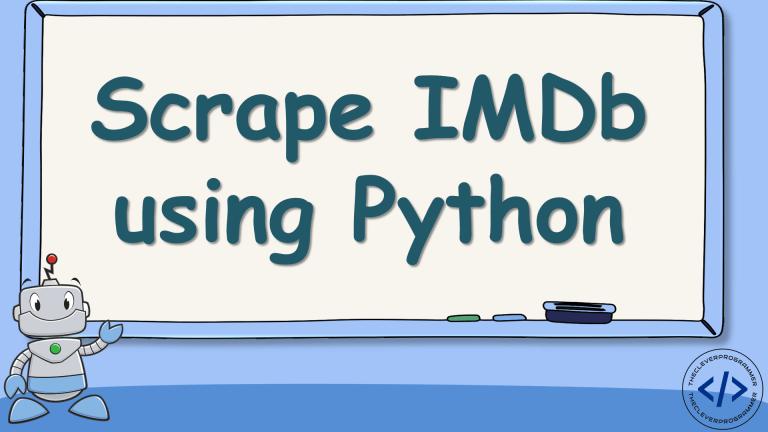 Scrape IMDb using Python